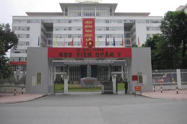 Điểm chuẩn Học viện Quân y - hệ dân sự năm 2019 và 2020