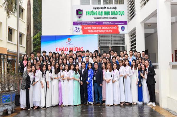 Thông tin tuyển sinh và mã ngành trường Đại học Giáo Dục - Đại học Quốc gia Hà Nội 2021