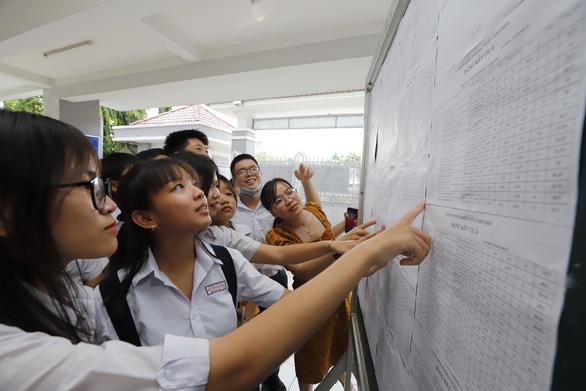 Điểm chuẩn lớp 10 các trường THPT công lập ở TP HCM 2021