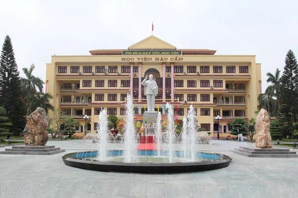 Trường Học viện Hậu Cần tuyển sinh 2021