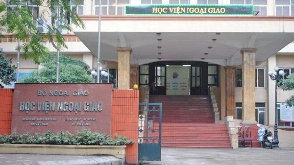 Điểm chuẩn Học viện Ngoại giao 2021 thấp nhất 27 điểm