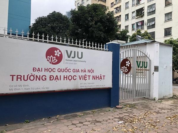 Thông tin tuyển sinh Đại học Việt Nhật 2021
