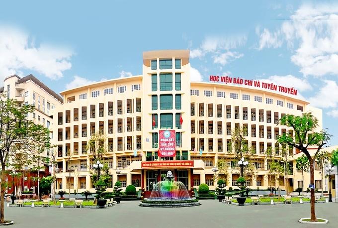 Điểm chuẩn Học viện Báo chí và Tuyên truyền lấy điểm cao nhất 38,07
