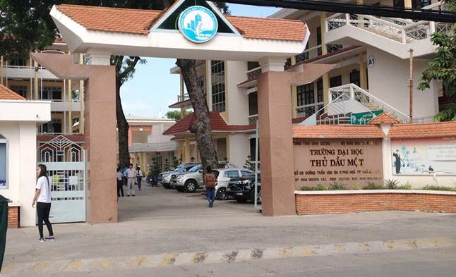 Điểm chuẩn Trường Đại học Thủ Dầu Một 2021