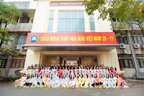 Học viện Quản lý giáo dục tuyển sinh năm 2021