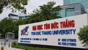 Điểm chuẩn trường Đại học Tôn Đức Thắng 2021