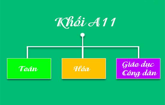 Khối A11 gồm những ngành nào? Các trường xét tuyển khối A11